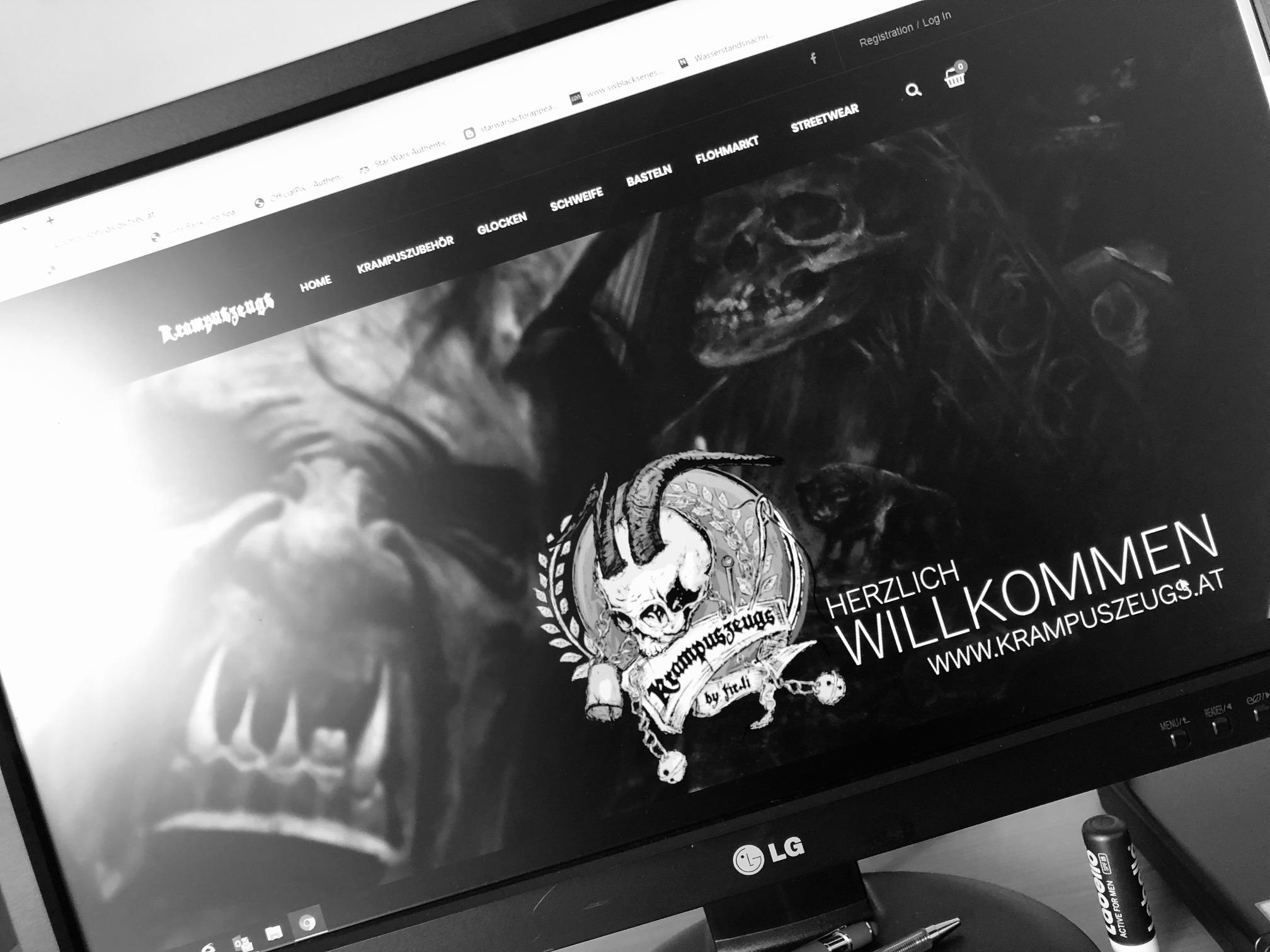 Krampuszeugs.at - Onlineshop NEU